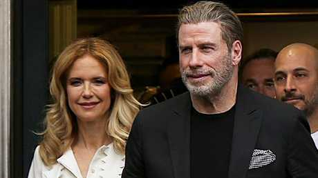 Preston Travolta have been married for 27 years. Picture: KCS Presse/ Mega Agency