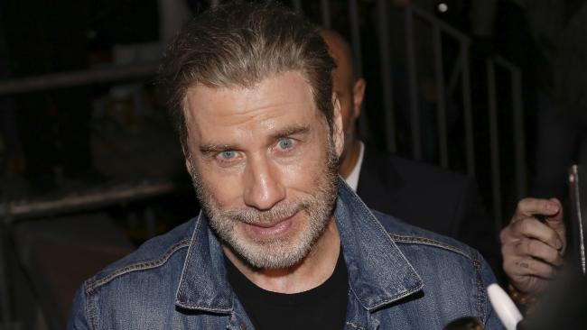 John Travolta is currently promoting his new film Gotti. Picture: Mega Agency