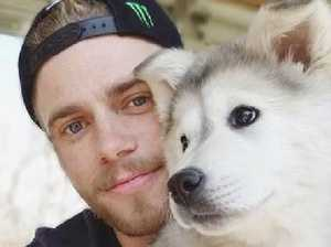 Olympian mourns dog saved from meat farm