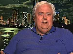 'It's my money': Palmer's trainwreck interview