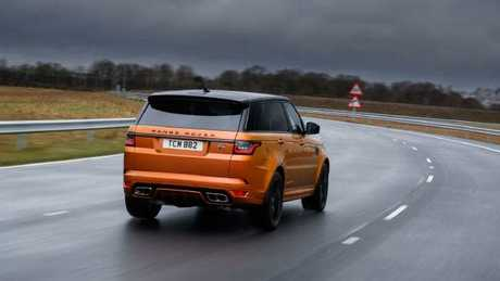 Can't miss it: SVR comes in Madagascar Orange and equally conspicuous Velocity Blue