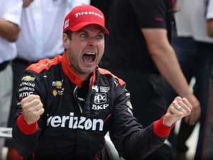 Toowoomba's Will Power makes history with Indy500 win