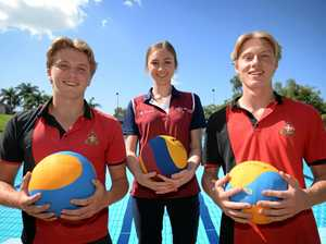 Trio off to Southern Hemisphere's biggest water polo event