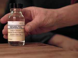 Chronically ill man 'raided' over euthanasia drugs