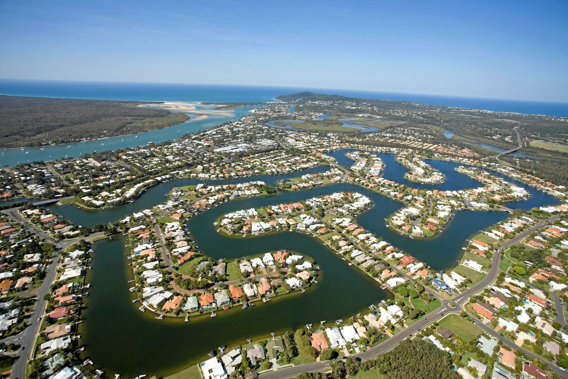 Noosa Heads is one of the most expensive areas to buy a house.