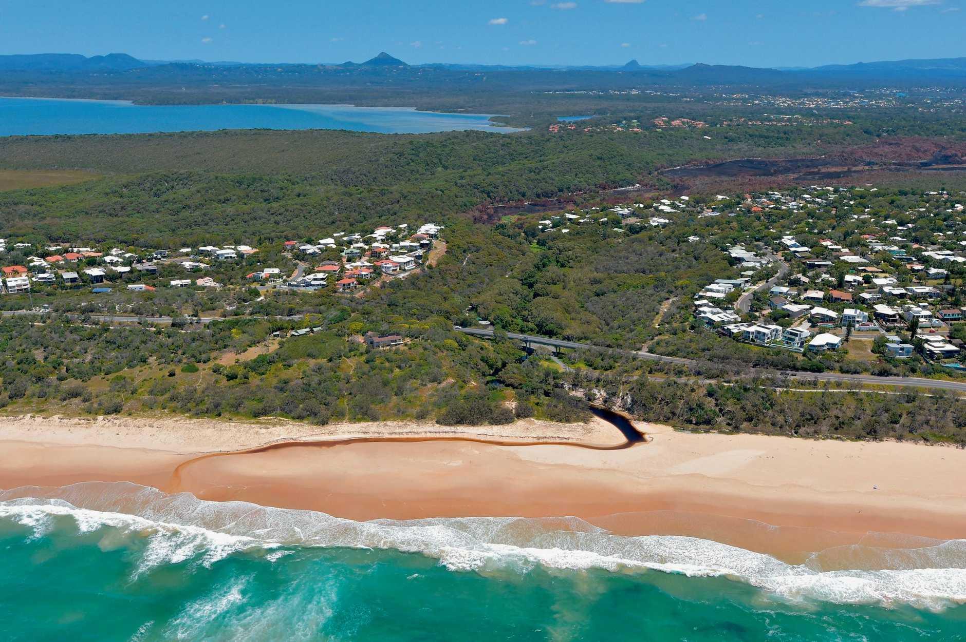 Aerials of the Sunshine Coast taken on Thursday 23 October, 2014 for advertising feature: Castaways Beach and Sunrise Beach. Photo: Brett Wortman / Sunshine Coast Daily