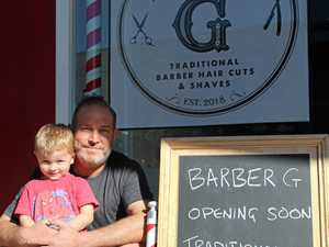New Mackay city barber has moved on from 'skinheads'