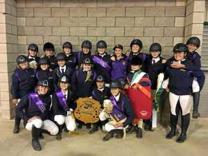 Glennie School claims another Darling Downs equestrian title
