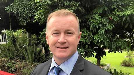 Ipswich City Council's new CEO Sean Madigan.