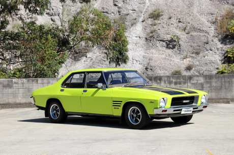 Australian muscle cars  performed strongly at Shannons Sydney Late Autumn Classic Auction on Sunday, May 27, with this 'Barbados Green' 1974 Holden HQ Monaro GTS 253 sedan with four-speed manual gearbox going for $55,500.