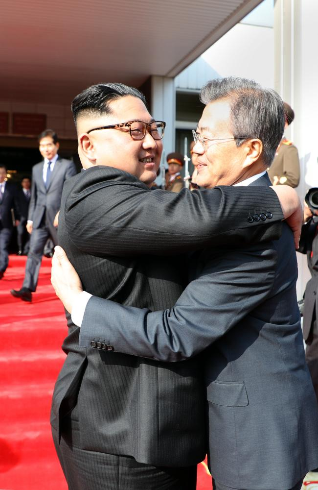 Over the weekend, the leaders of South and North Korea met for a second time.