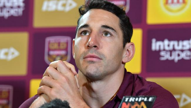 Slater will bid farewell to Queensland after this series. (AAP Image/Darren England)