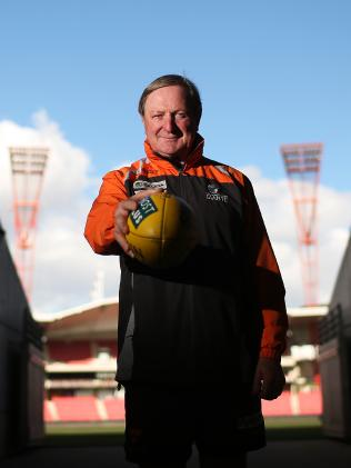 Kevin Sheedy took on the job of coaching GWS.