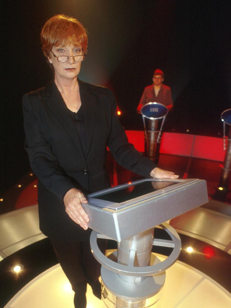 Actor Cornelia Frances was the host of The Weakest Link. P