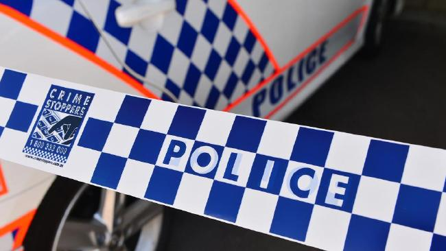 Police have set up a crime scene at Gladesville site on Jordan Street after the body of the woman was found shortly before 7am. Picture: Stock