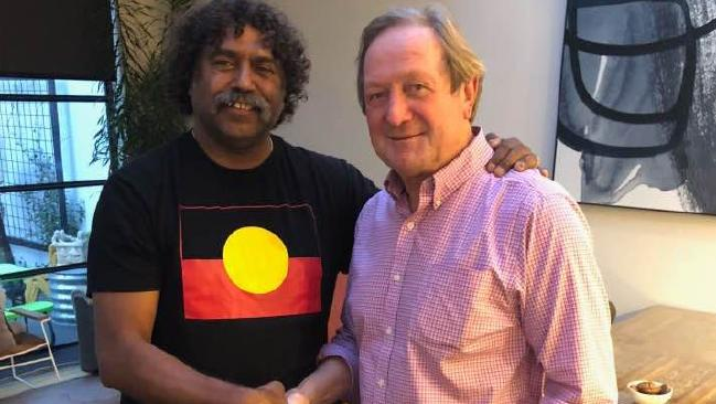 Derek Kickett and Kevin Sheedy.