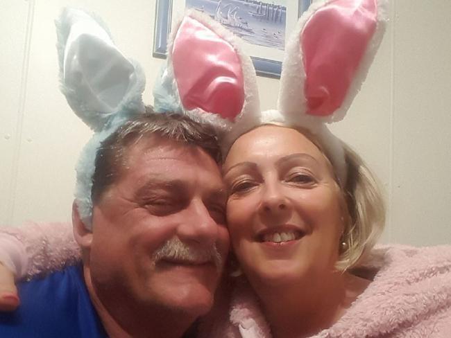 Greg Roser and Sharon Graham.