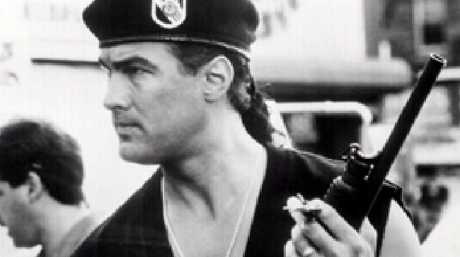 Steven Seagal in 'Out for Justice' in 1991.