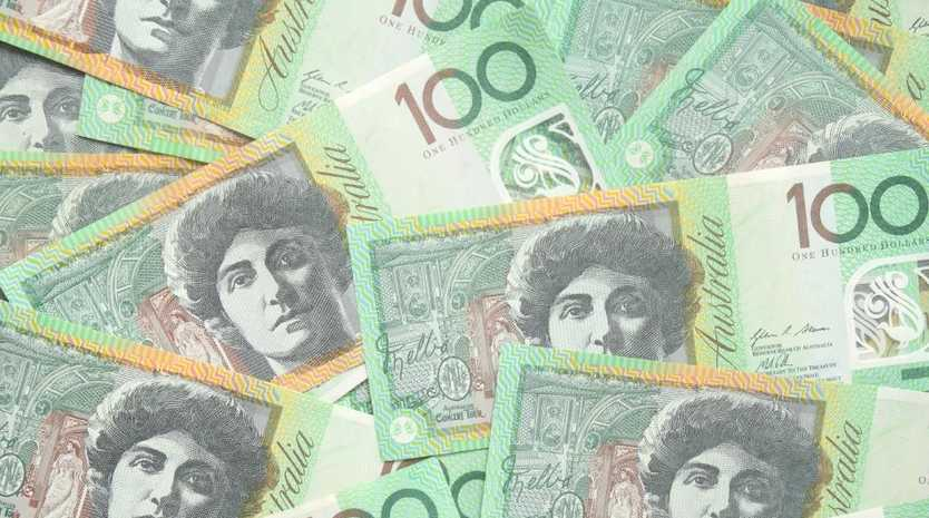 Group of 100 dollar Australian notes - hopefully in your super package. Picture: istock