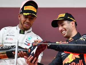 Hamilton predicts Ricciardo's driving future