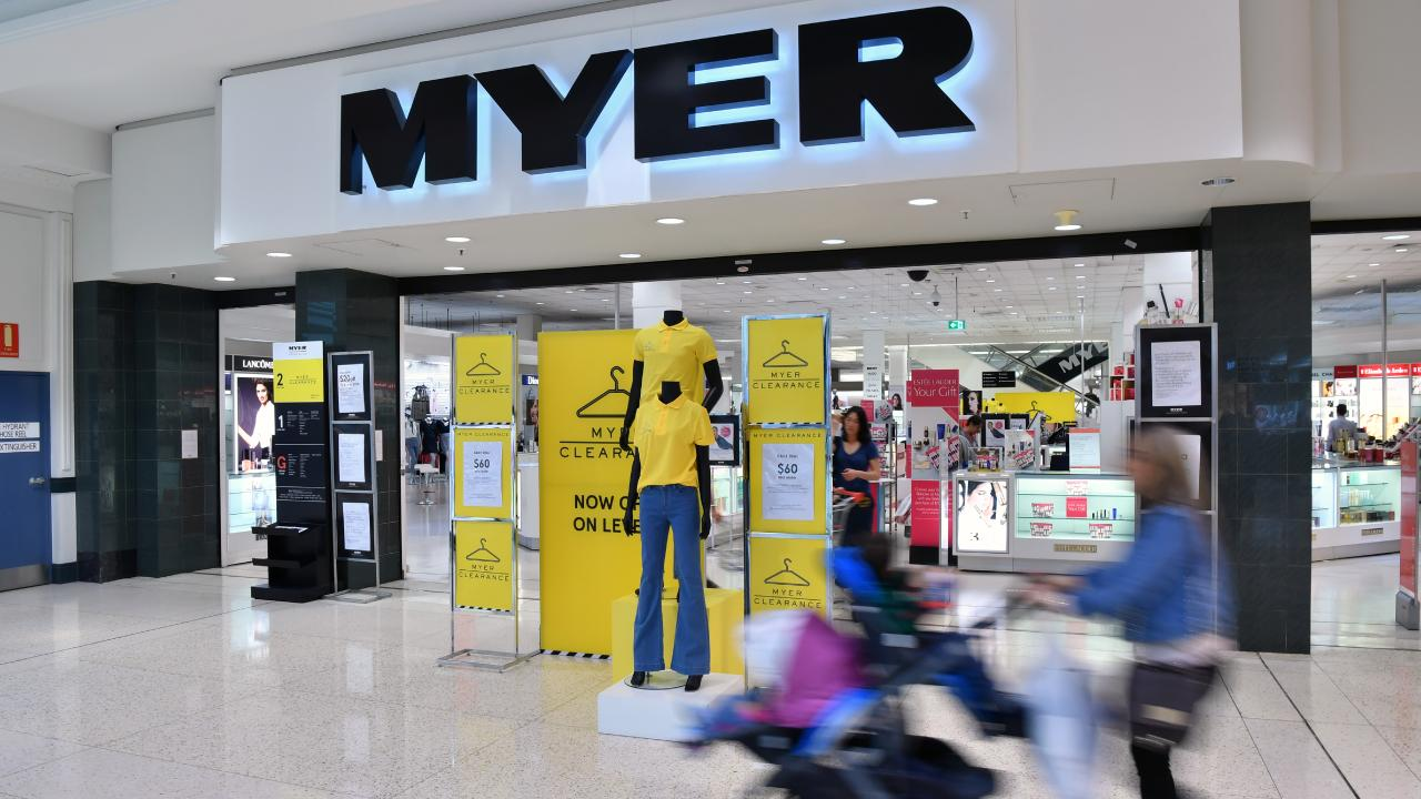Myer has said million of customers will come to its stores as well as shopping the sales online. Picture: AAP Image/Joel Carrett