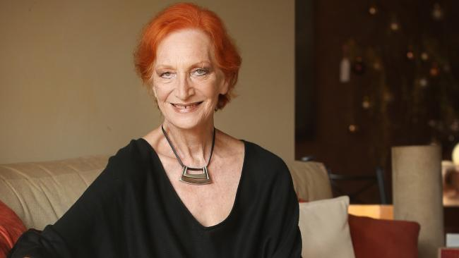 Australian actor Cornelia Frances has lost her battle with bladder cancer. Picture: Richard Dobson