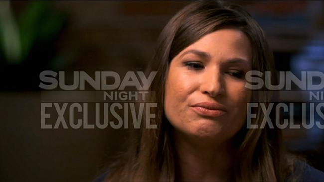 Vikki Campion will tell her story on Sunday night. Picture: Channel 7