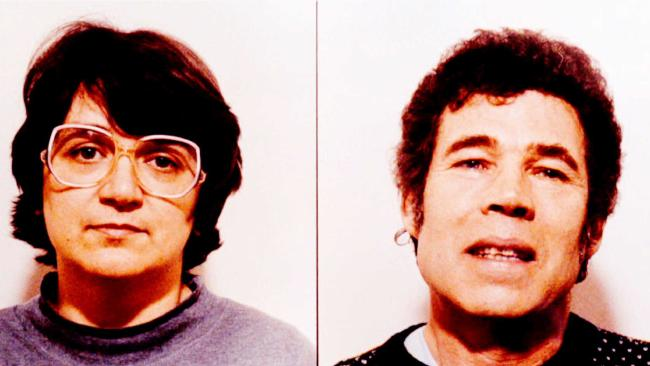 Serial killers Rosemary and Fred West. Rosemary West was moved to another jail after death threats from another inmate. Picture: Supplied