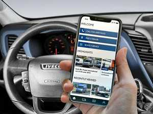 MyIVECO app's helpful services