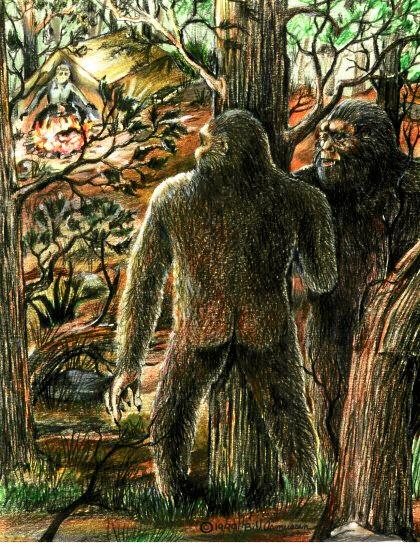 FEARSOME: The Yowie remains an elusive creature on the Northern Rivers, despite regular sightings.