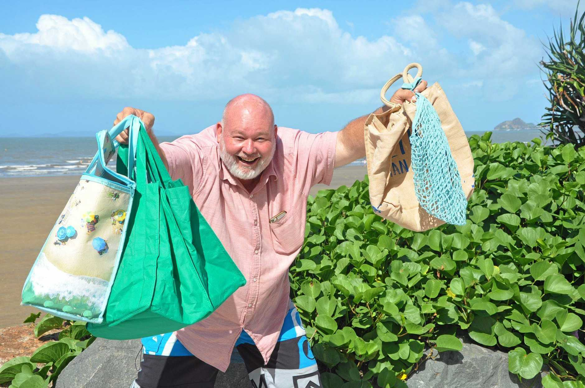 Rhodes Watson is being proactive before the single use plastic bag ban comes into effect.