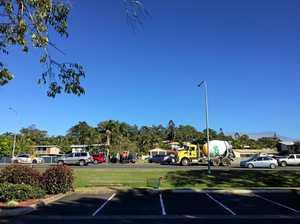 Peak hour crash on busy Mackay stretch
