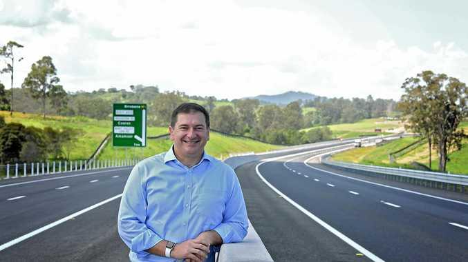Wide Bay MP Llew O'Brien .