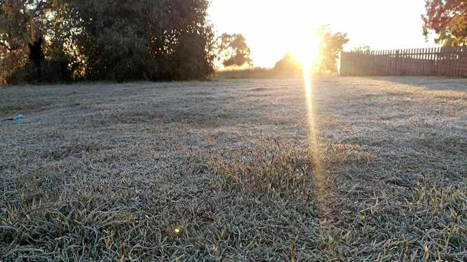 Frosty start for Ipswich ahead of warm change