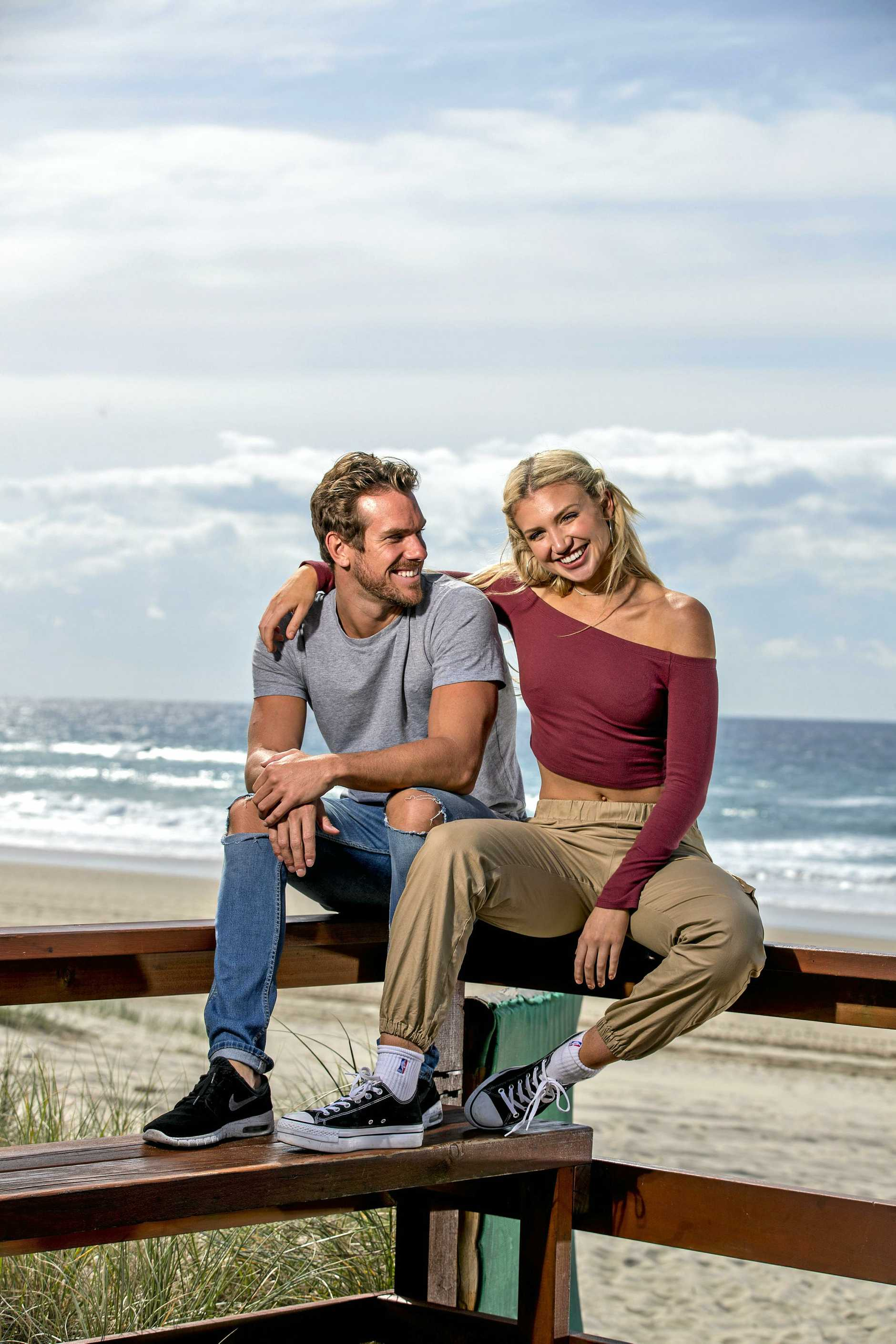 Australian swimmer James Roberts and his partner/best friend influencer Gabby Epstein are each other's best friends.