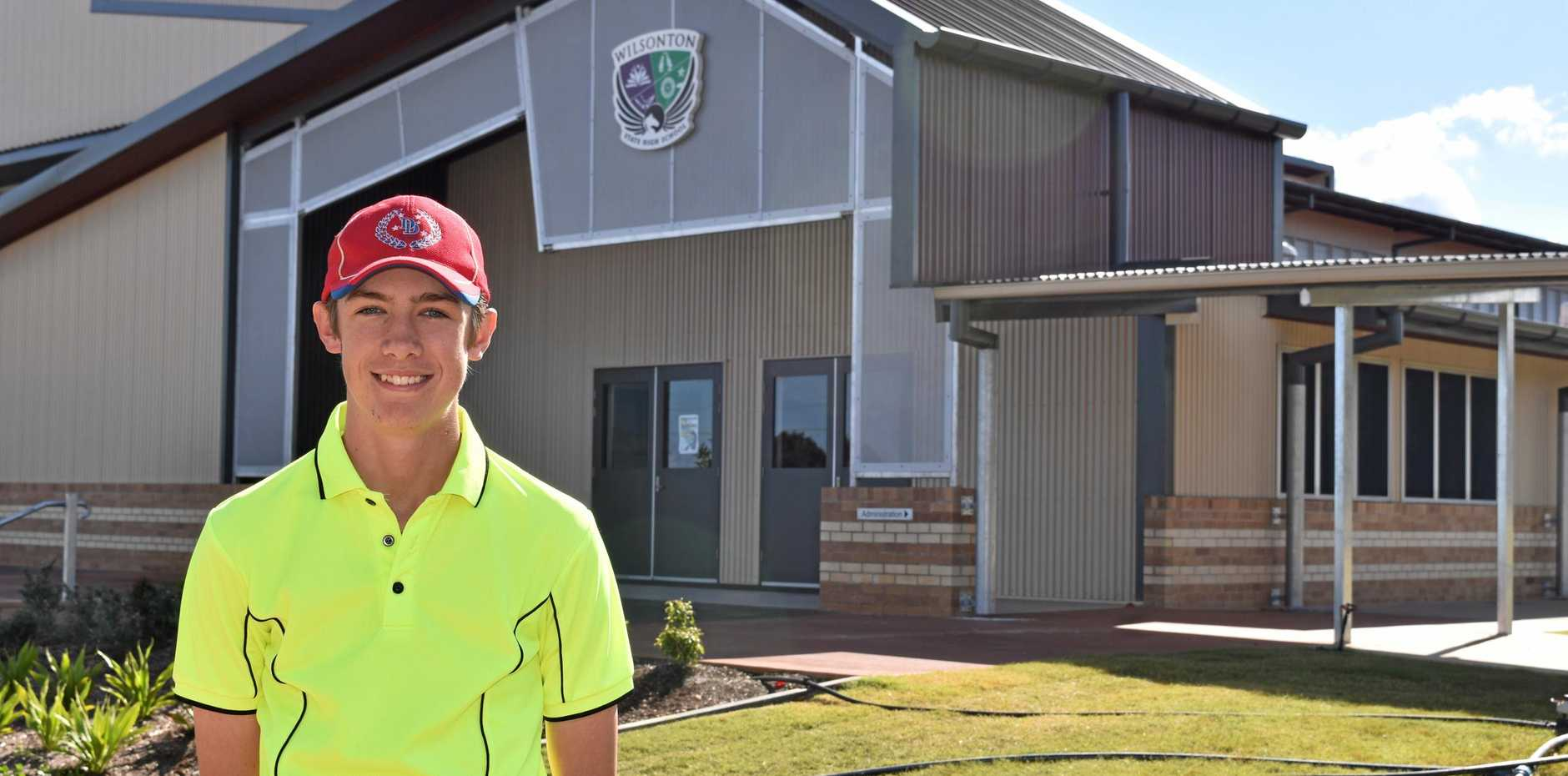 THE RIGHT CALLS: Wilsonton State High School's Flynn Jefferies will represent the Darling Downs as an umpire for today's Queensland School Sport 13-19 years Boys Hockey State Championships.