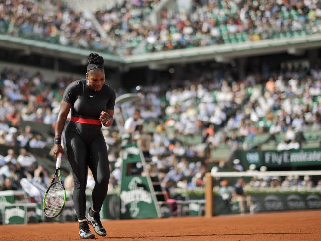The French Open marks the great champ's first tournament return since giving birth to a daughter last September.