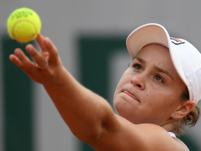 Ash Barty demolished Russia's Natalia Vikhlyantseva in three sets.
