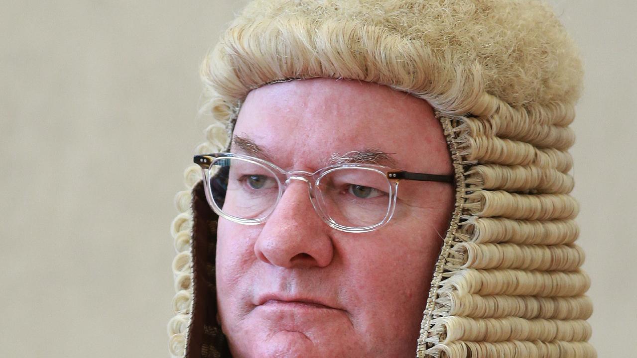 Justice Peter Flanagan. Picture: Claudia Baxter