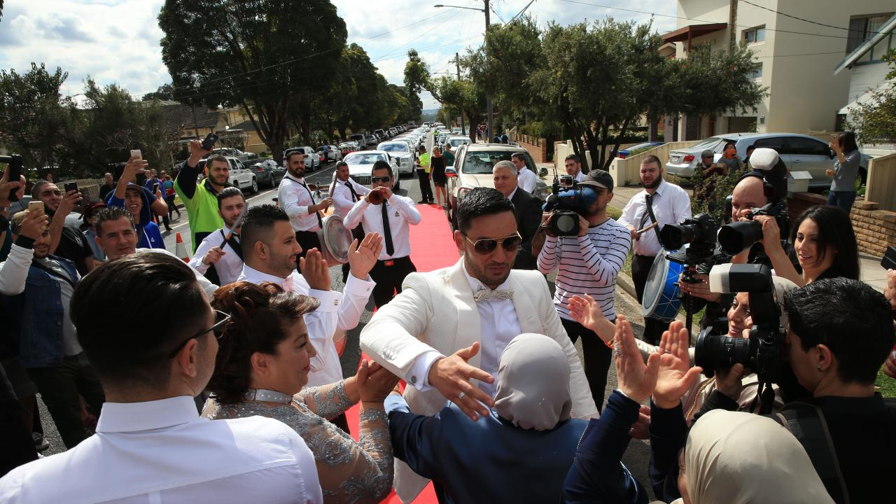Less than three years ago, Salim held his lavish wedding in Lidcombe with four helicopters, over 30 super cars, 50 motorbikes, a jet flyover and over 100 metres of red carpet.