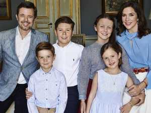 Danish royals' gorgeous new family photo