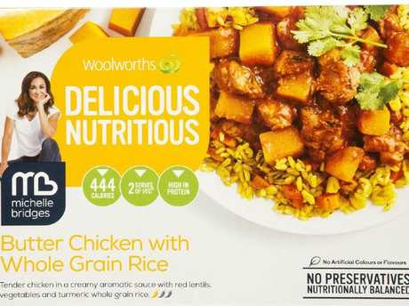 An item from Woolworths Delicious Nutritious range.