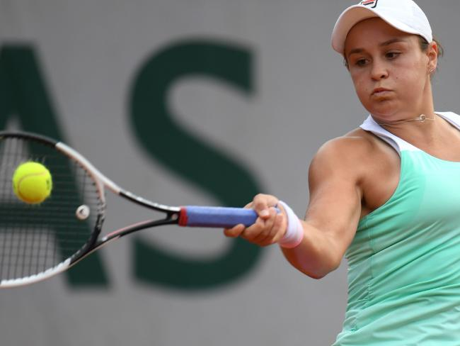 Ash Barty said she was looking forward to the challenge of playing Serena Williams.