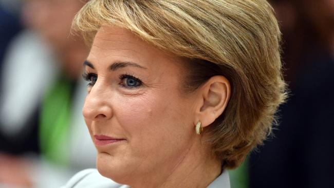 Minister for Jobs Michaelia Cash at Senate Estimates at Parliament House in Canberra, Tuesday, May 29, 2018. Picture: AAP/Mick Tsikas.