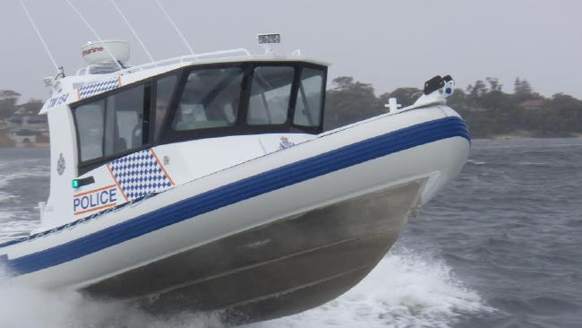 A boat is reported to be sinking off the Gold Coast.