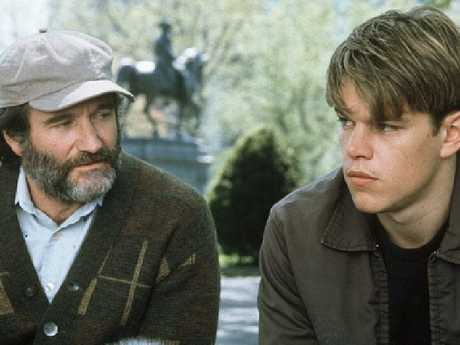 Robin Williams surprised everyone on the Good Will Hunting set.