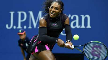 "Serena brought in wearing ""Wonder Woman"" sleeves at the US Open in 2016 in another outfit she described as her ""superhero"" look."