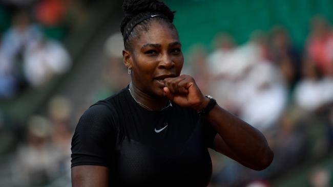 Serene Williams stunned at the French Open.
