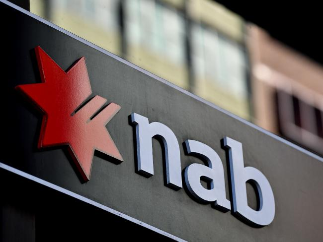 NAB suffered through a nationwide outage last weekend. Picture: Joel Carrett