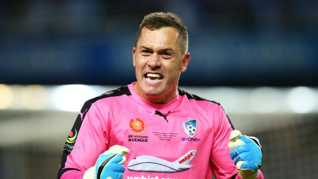 Danny Vukovic is playing for keeps ahead of the World Cup.